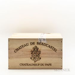 Chateau de Beaucastel Chateauneuf du Pape 2010, 6 bottles (owc)