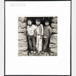 Ken Light (American, b. 1951)      Three Brothers, Oaxaca, Mexico