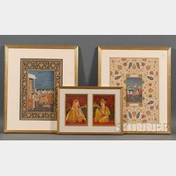 Three Indian Miniatures