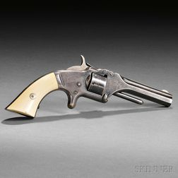 Identified Smith and Wesson Model Number One, Second Issue