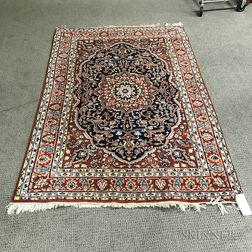 "Indian Oriental Rug with ""Heriz"" Design"