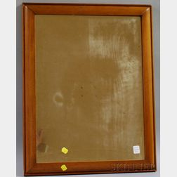 Hagerty Cohasset Colonial William & Mary-style Pine Mirror