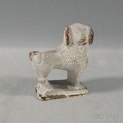 Chalkware Poodle