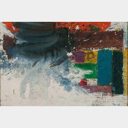 Taro Yamamoto (Japanese/American, 1919-1994)      Abstract Painting