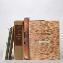 Six Books on Antonio Stradivari