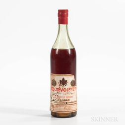 Courvoisier, 1 4/5 quart bottle