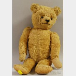 Golden Brown Mohair Teddy Bear