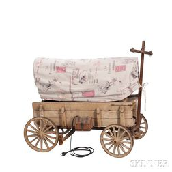 Little Jimmy Dickens     Covered Wagon Lamp