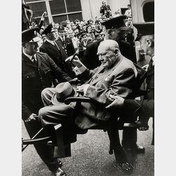 Terry O'Neill (British, b. 1938)      Winston Churchill