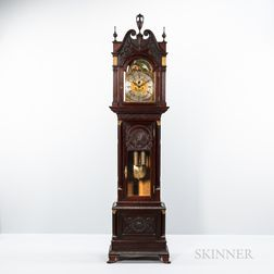 Walter Durfee-style Hall Clock