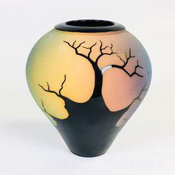Southwest-style Studio Pottery Vase