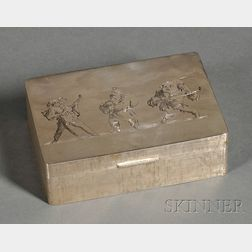 M. Buccellati .800 Silver Box