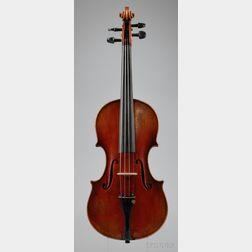 Modern German Violin, Albert Knorr Workshop, Markneukirchen, c. 1925