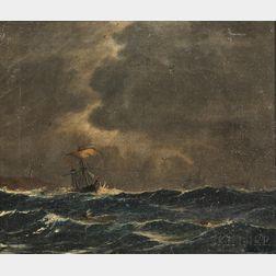 Danish School, 20th Century      Vessel on the High Seas