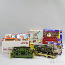 Large Group of Mostly Marklin Model Trains and Accessories