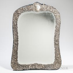 Sterling Silver-mounted Mirror Frame