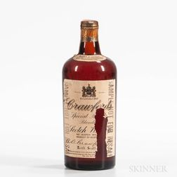 Crawfords Scotch, 1 4/5 quart bottle Spirits cannot be shipped. Please see http://bit.ly/sk-spirits for more info.