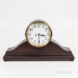 Waterbury Mahogany Mantel Clock