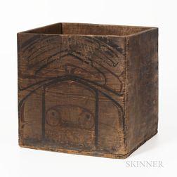 Northwest Coast Bentwood Cedar Box