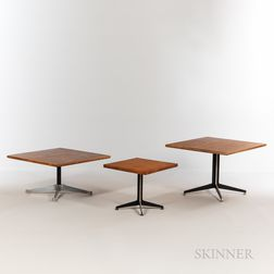 Ray (1912-1988) and Charles Eames (1907-1978) for Herman Miller Side Tables