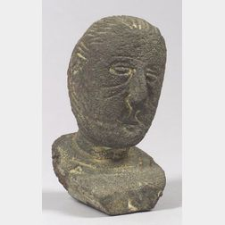 Alfred Milton Duca (American, 1920-1997)    Portrait Head