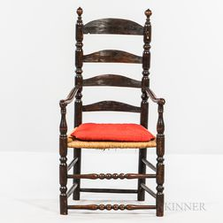 Turned Slat-back Armchair