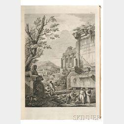 Adam, Robert (1728-1792) Ruins of the Diocletian Palace at Spalatro in Dalmatia