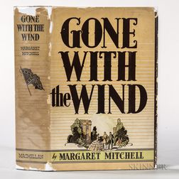 Mitchell, Margaret (1900-1949) Gone with the Wind  , First Edition, with Dust Jacket.