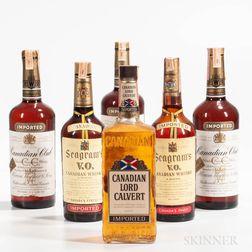 Mixed Canadian, 6 4/5 quart bottles