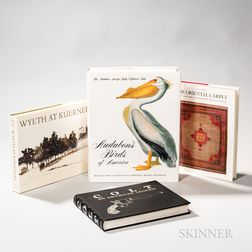 Four Hardcover Bound Books
