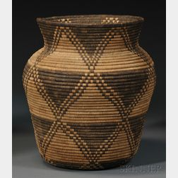Apache Coiled Basketry Olla