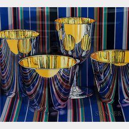 Jeanette Pasin Sloan (American, b. 1946)      Two Prints: La Terrazza