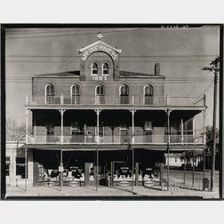 Walker Evans (American, 1903-1975)       Store Building, Vicksburg, Mississippi