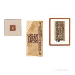 Three Coptic Textiles