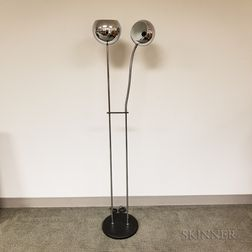 Mid-Century Modern Two-light Floor Lamp
