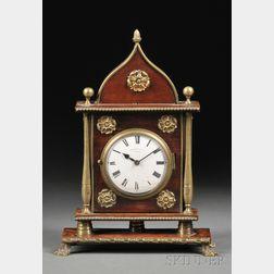 Mahogany Sedan Clock by J. Inman