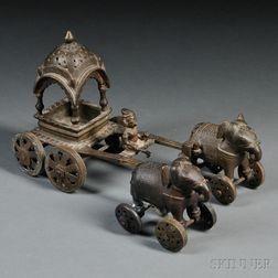 Metal Model of a Cart