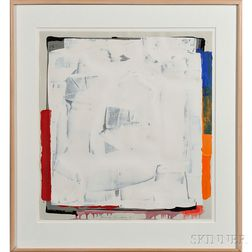 Frank Campion (American, b. 1949) Painting      White 1981