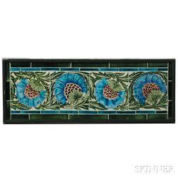 William De Morgan (1839-1917) Set of Tiles