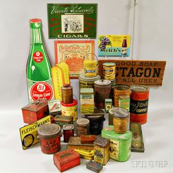 Group of Advertising Items