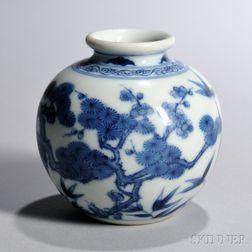 Blue and White Jarlet
