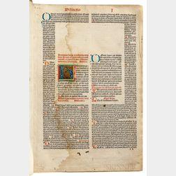 Gratianus [aka Gratian] (359-383) Decretum.