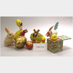 Miscellaneous Group of Easter and Christmas Items