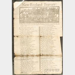 (French and Indian War, Broadside)