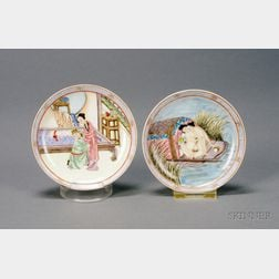 Pair of Saucer Dishes