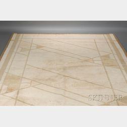 Four Frank Lloyd Wright Design Carpets