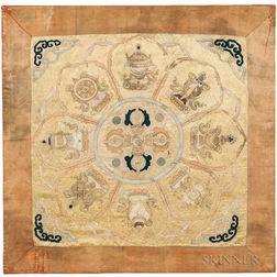 """Dorgi"" Eight-petal Lotus Embroidery"