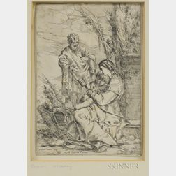 Giulio Carpioni (Italian, 1613-1679)      The Holy Family