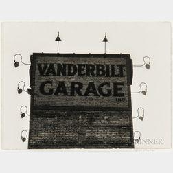Ralph Steiner (American, 1899-1986)      Four Photographs:   Vanderbilt Garage