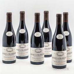 Frederic Esmonin Gevrey Chambertin Vieilles Vignes 2012, 6 bottles